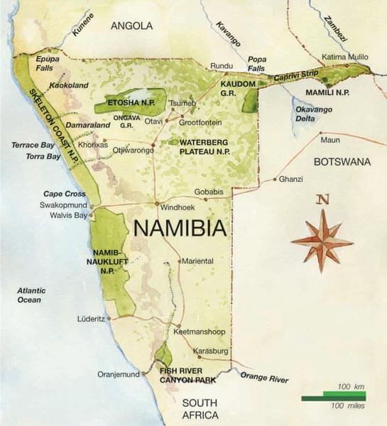Circuit Namibian Highlight
