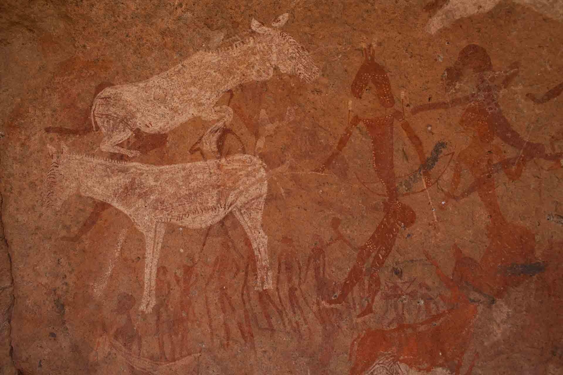 Peintures rupestres - Brandberg