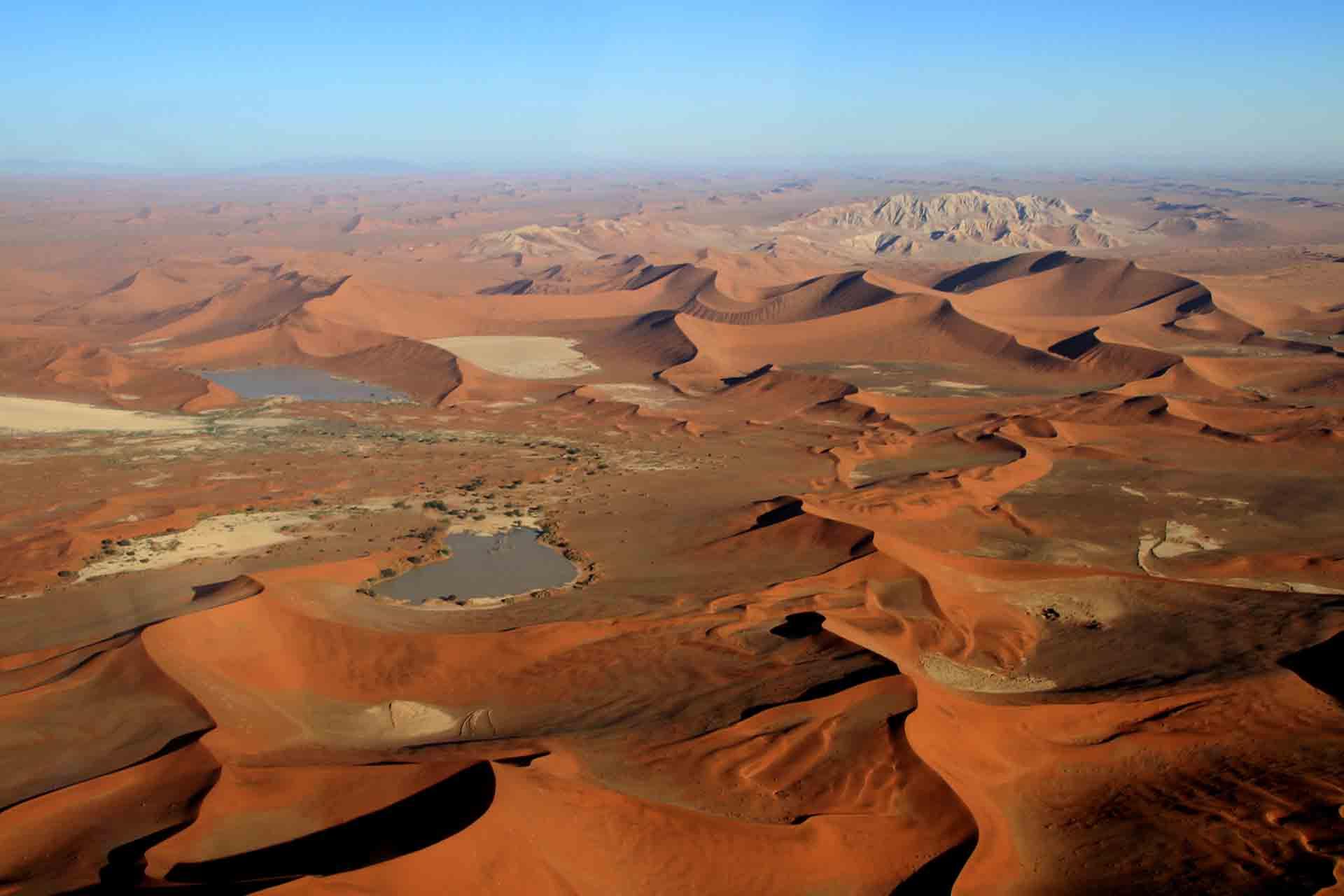 Dunes de Sossusvlei - Namibie
