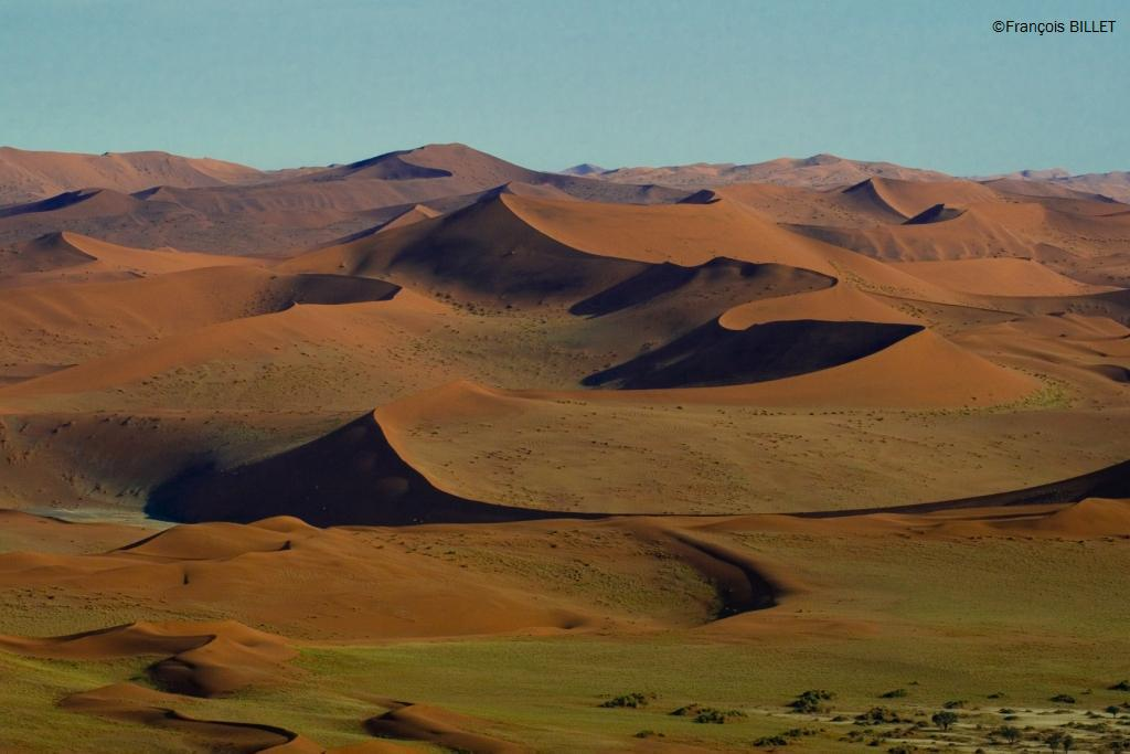 Dunes de Sossusvlei - Désert du Namib